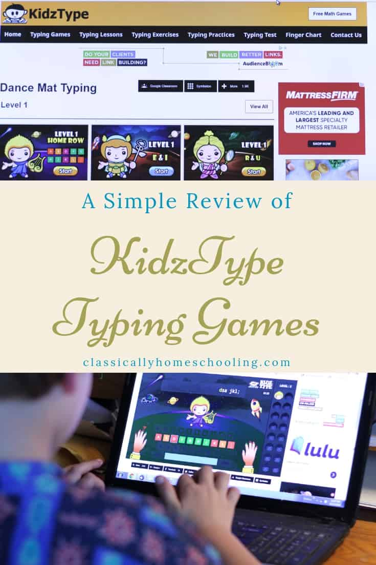 tuch typing games